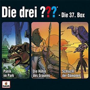 Die drei ??? – Die 37. ??? Box (Folgen 110-112)
